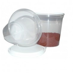 Pot en plastique 380ml