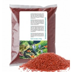 Sable rouge pour aquarium 2kg