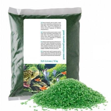 Sable vert pour aquarium 2kg