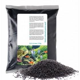 Sable noir pour aquarium et terrarium 2kg