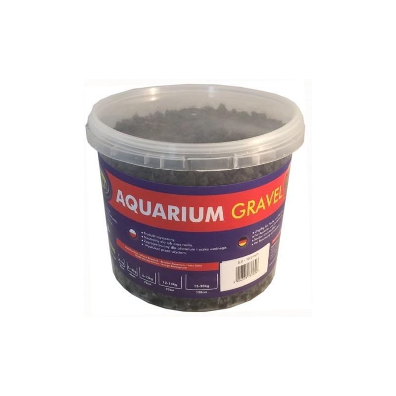 Basalte concassé pour aquarium