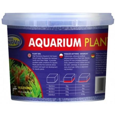 Sol technique aquarium plant soil noir
