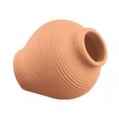 Pot céramique brun