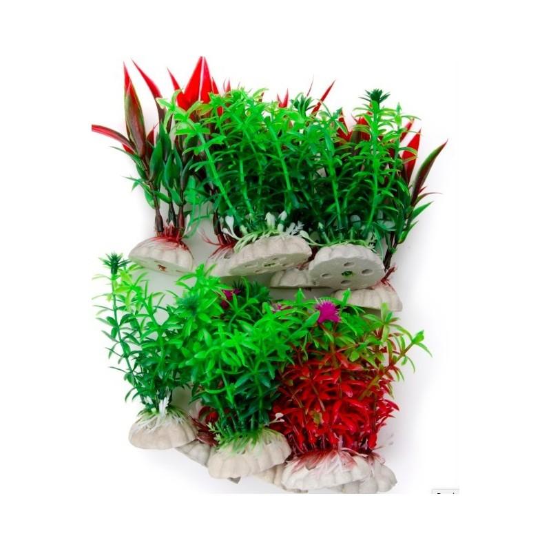 plante plastique pour aquarium