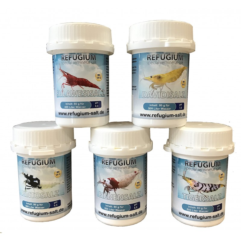 Refugium sels minéraux PH6
