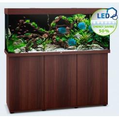 Ensemble Aquarium et meuble Juwel Rio 450 led brun