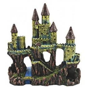 decore chateau pour aquarium