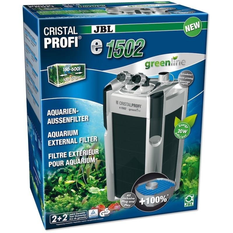 Filtre externe aquarium JBL CristalProfi e1502 greenline