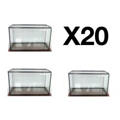 Cuve aquarium 20 litre par quantité