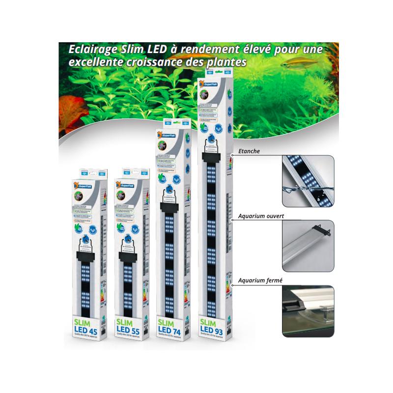 Rampe aquarium slim LED 93 cm