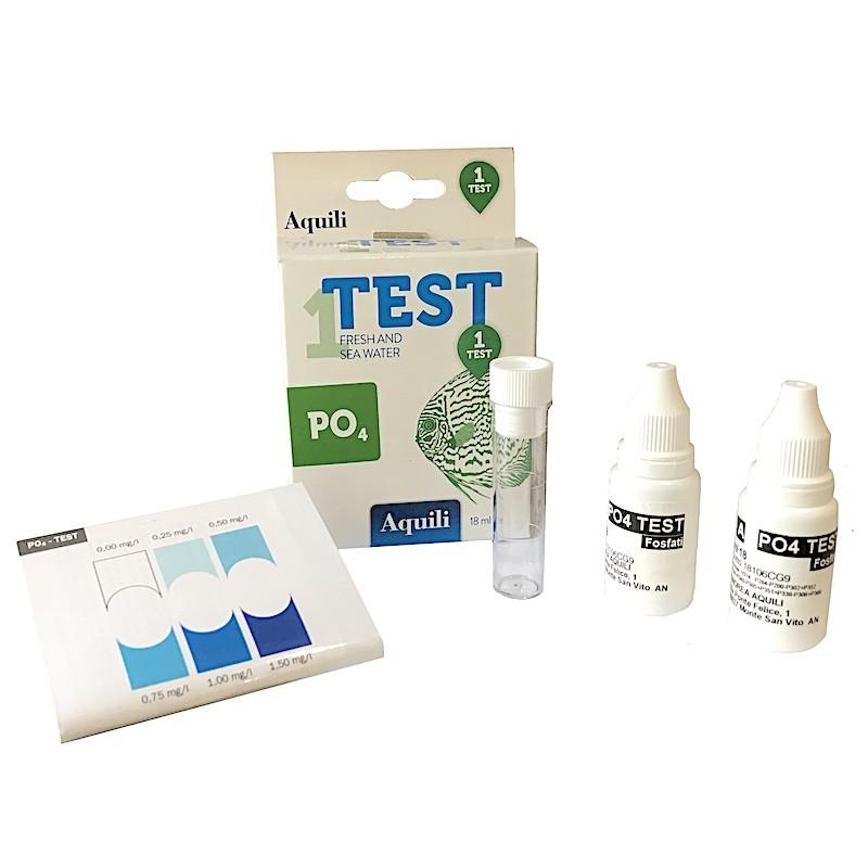 Test phosphate aquili pour aquarium
