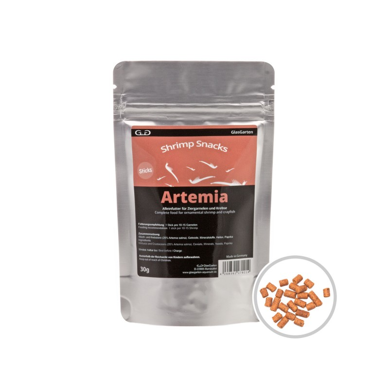 Shrimp Snacks Artemia, 30g