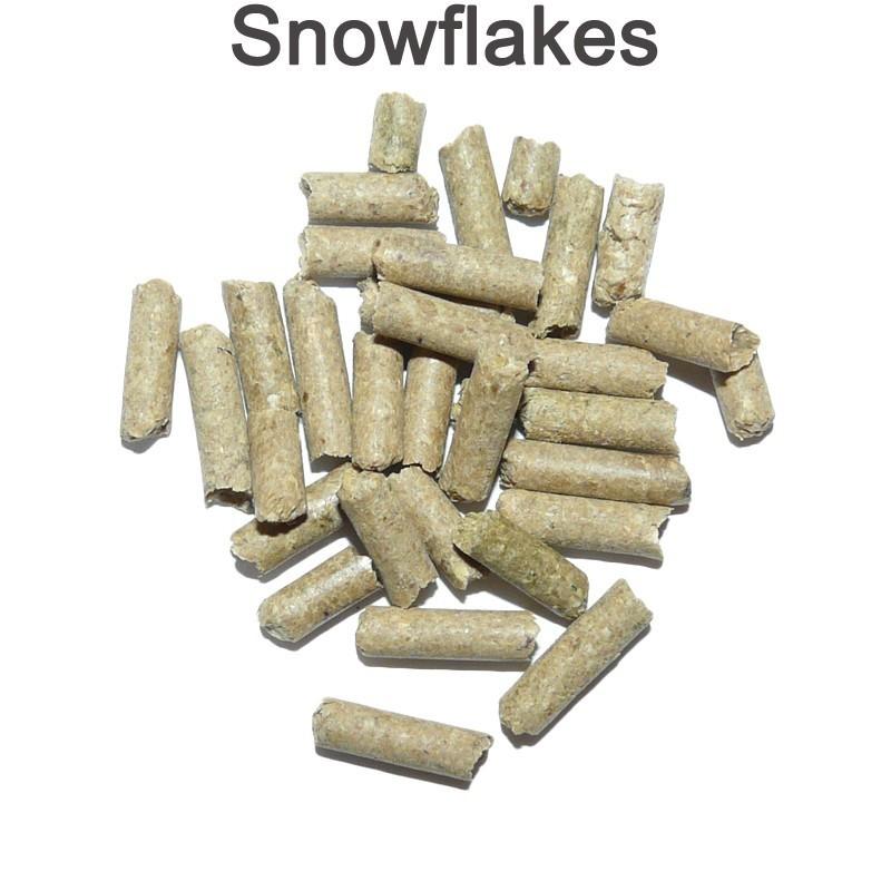 Snowflakes pour crevettes