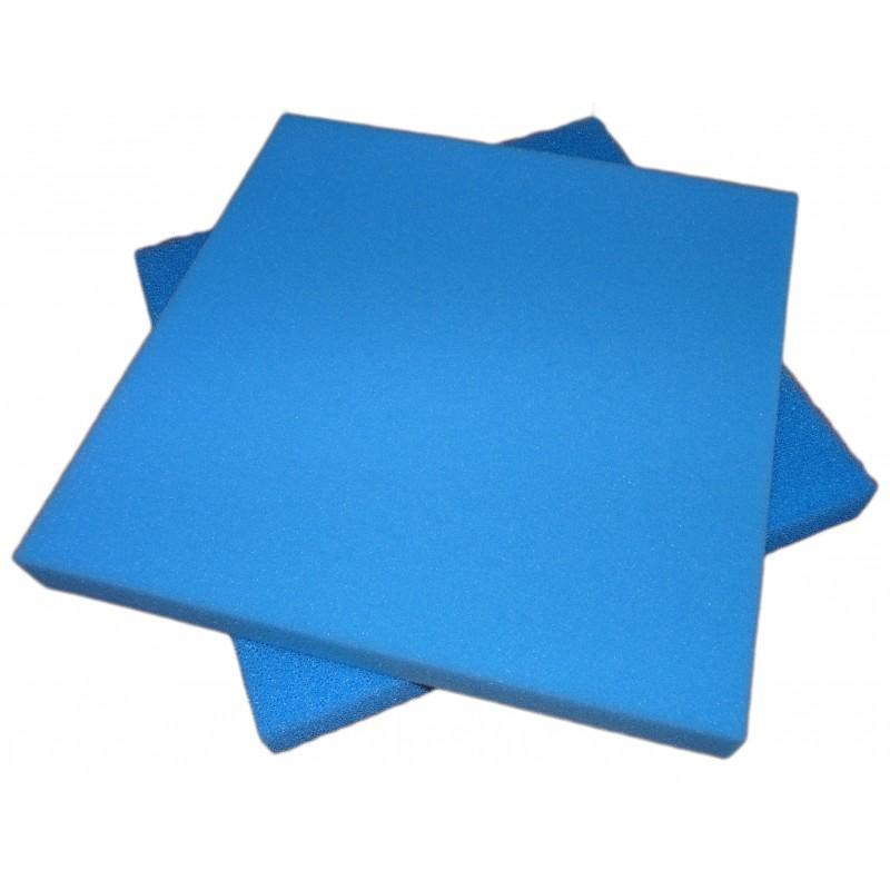 Mousse bleue fine