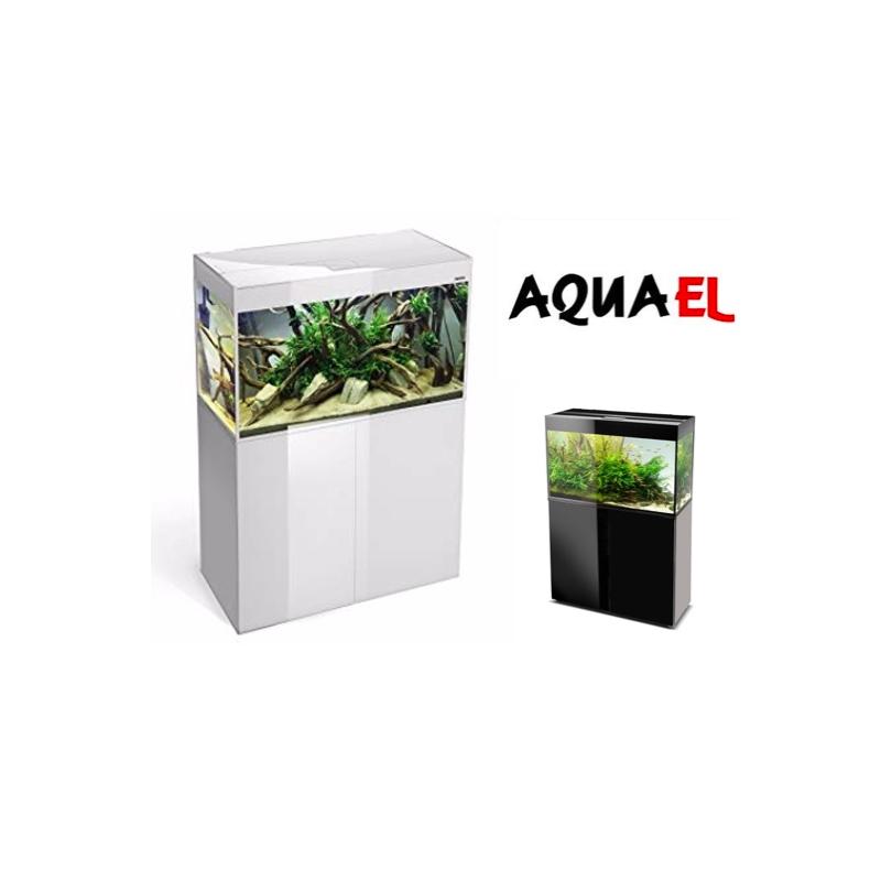 Ensemble Aquarium + meuble AquaEl Glossy 80