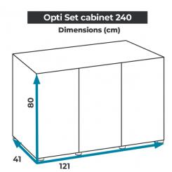 Mesures meuble opti set 240