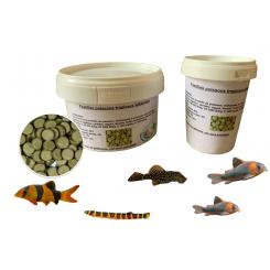 Aliment en Pastilles pour poissons de fond d'aquarium