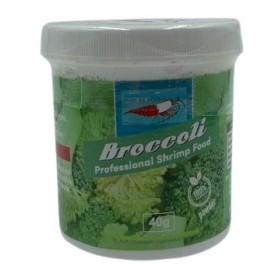 Poudre de broccoli pour crevette aquarium