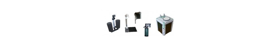 Filtre interne, externe et exhausteur pour aquarium