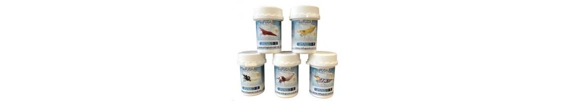 Sels minéraux pour crevettes d'aquarium