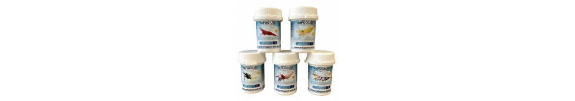 Sels minéraux Refugium pour crevettes d'aquarium